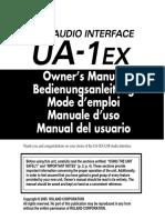 Edirol Audio Interface