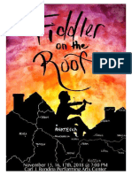 Fiddler on the Roof program