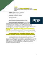 Infectologia - Resumo Semestral