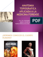 Anatomia Topografica Aplicada a La Medicina Forense (1) Medicina Legal