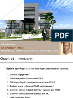 Sequence 01 Du Cours Le Langage Html5