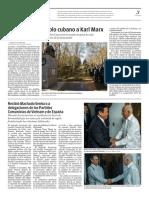 Diario Granma. 15 noviembre de 2018. p.3.