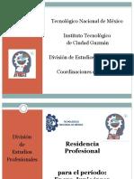 Plática sobre residencia profesional Enero 2019 [Recuperado]