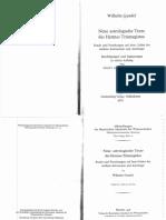 GUNDEL - Neue Texte Des Hermes Trismegistus