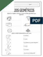 Solidos Geometricos Atividades Suzano