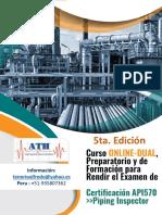 API 570 (Mayo 2018) -Formacion