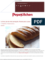 Pepekitchen La broa, pan de maíz portugués Receta paso a paso - Pepekitchen.pdf
