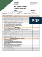 Formato de Informe Educacional