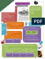 Mass Media Vocabulary Chart Fillibg