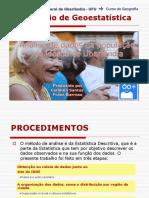 A população idosa de Uberlândia - Dados Estatísticos