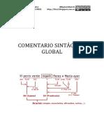 Cuaderno de actividades para practicar el comentario sintáctico global (nivel intermedio y avanzado)
