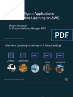 Build Inteligent Applications With Machine Learning on AWS v2