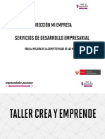 Taller Crea y Emprende - Sesión 2