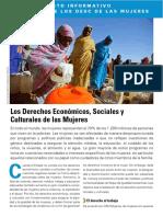 Derechos Económicos, Sociales y Culturales  de las Mujeres
