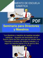 Seminario para Directores y Maestros