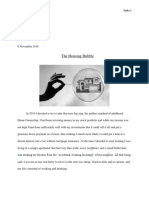 housing bubble research paper