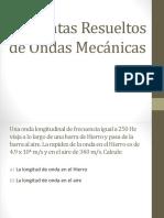 Fisica II - Cap 15 Ondas Mecanicas - Problemas Resueltos