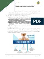 Electroterapia, Termoterapia e Hidroterapia