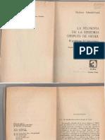 Herbert Schnädelbach - La Filosofía de La Historia Después de Hegel. El Problema Del Historicismo (1980, Alfa)