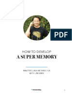 How to Develop a Super Memory and Learn Like a Genius With Jim Kwik Nov 2018 Launch
