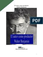 Benjamin Walter - El Autor Como Productor.DOC