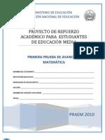 PRUEBA DE MATEMÁTICA B