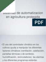 Sistemas de Automatizacion en Agricultura Protegida Ppt