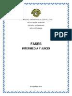 Fase Intermedia y Juicio Final