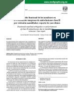 2Ortopedia funcional de los maxilares en el tratamiento temprano de maloclusiones clase II por retrusión mandibular