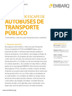 Spanish Exhaust Emissions Transit Buses EMBARQ