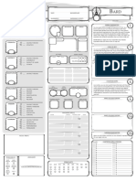Dungeons and Dragons Class Character Sheet_Bard V1.2_Fillable