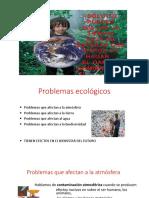 Problemas Ecológicos Clase 3