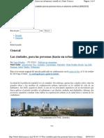 Las ciudades para las personas- Jan Gehl