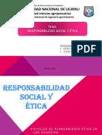 Responsabilidad Social y ÉTICA