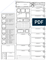Dungeons and Dragons Class Character Sheet_Blood Hunter V1.0_Fillable