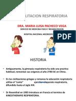 Rehabilitación respiratoria USJB