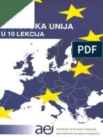 EU u 10 lekcija