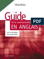 Guide de La Communication Ecrite en Anglais
