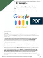 Ok, Google... Dime Las Últimas Noticias _ El Buscador Ya Incluye Audios de Tecnología y Ciencias _ Actualidad _ El Comercio Perú