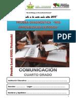 Comunicacion 4to Grado UGEL PKI