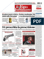 Il Fatto Quotidiano 9 Novembre 2018