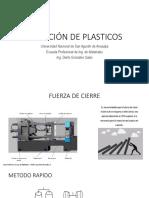 Inyeccion de plasticos