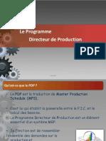 6.1 Le PDP Programme Directeur de Production