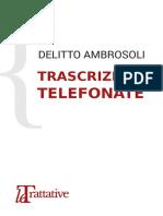 Delitto Ambrosoli - Trascrizioni telefoniche