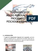 Tratamiento de Aguas Residuales Del Procesado de Pescados