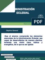 Administracioìn Eclesial Diplomado en Ministerio Pastoral.pptx