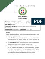 Protocolo Quirúrgico de Área de Periodoncia Gingivectomia + Melanoplastia + Gingivoplastia - copia
