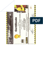 Certificado Asistente de Obra - Ing. Bendezu