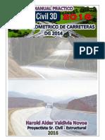 Tutorial Diseño Geometrico de Carreteras Con Autocad civil 3D 2016 - DG 2014.pdf