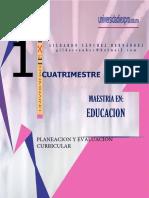 Antología Planeación y Evaluación Curricular